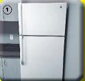 Locate the refrigerator's coil