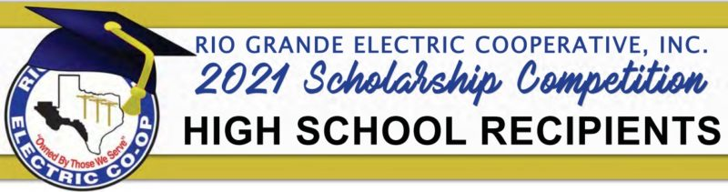 2021 Scholarship Competition HIGH SCHOOL RECIPIENTS
