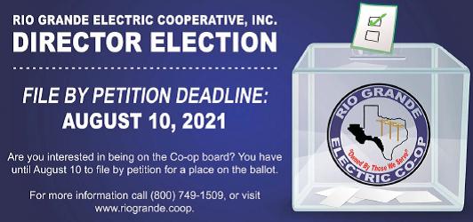Director Election Rio Grande Electric